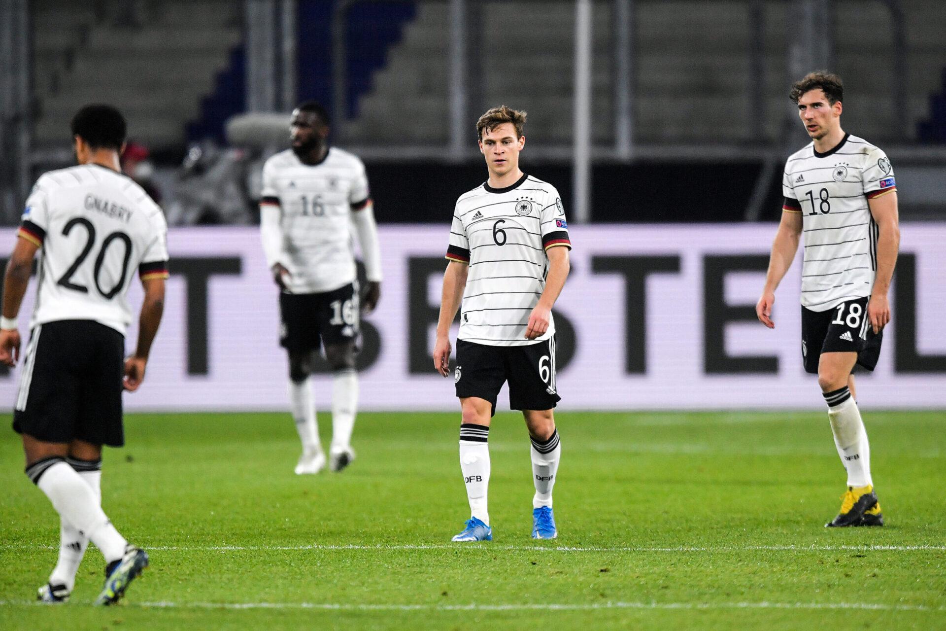 L'Allemagne pourra compter sur Joshua Kimmich face à la France. Icon Sport