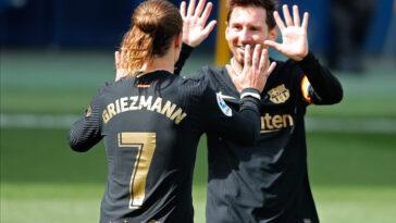 Antoine Griezmann et Lionel Messi entretiennent une bonne relation (iconsport)