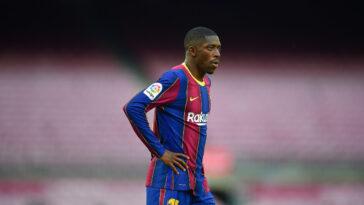 Ousmane Dembélé ferait traîner les négociations avec Barcelone (iconsport)