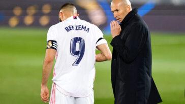 Karim Benzema a été surpris par le départ de Zidane (iconsport)