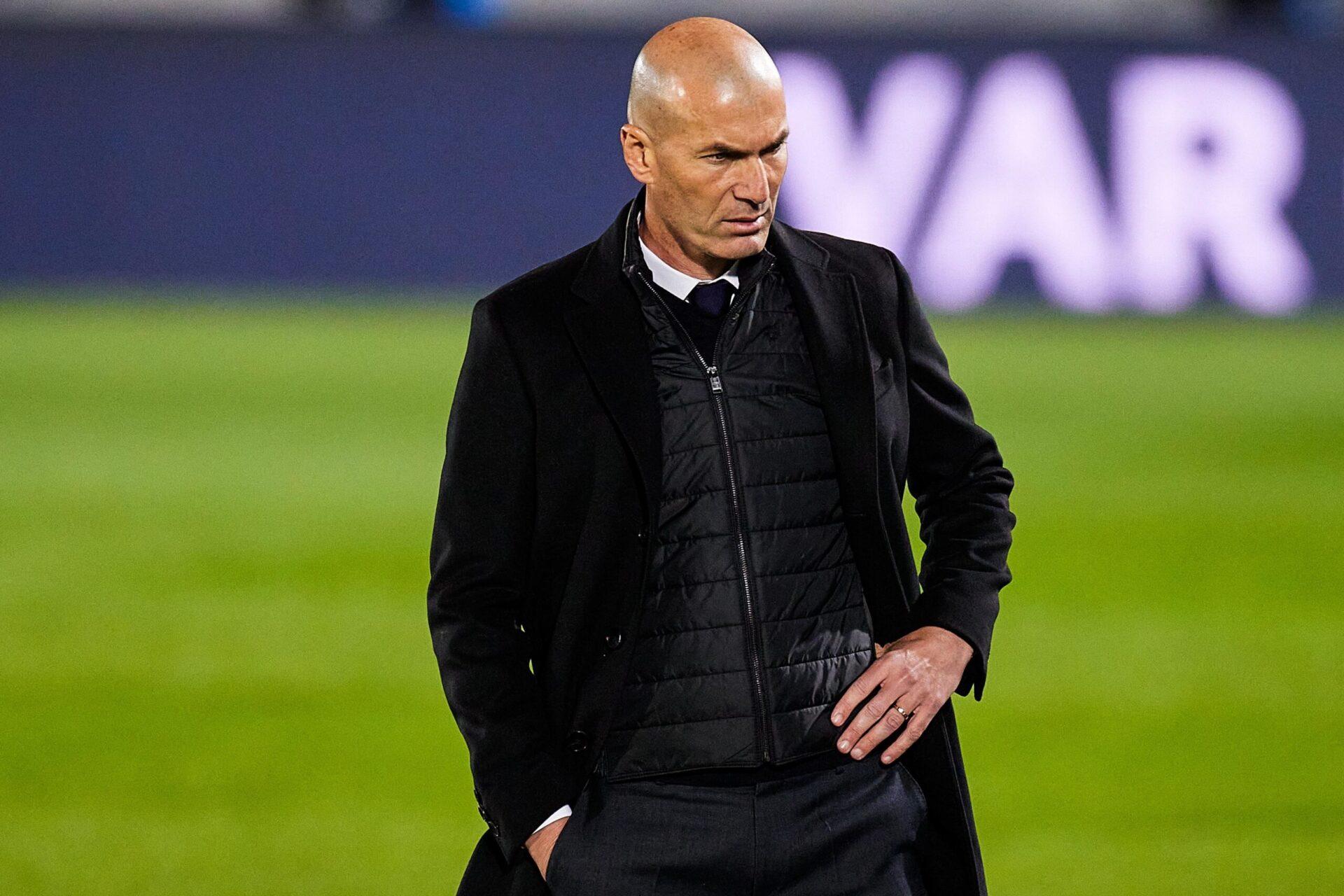 Perez comprend que Zidane ait pu se sentir fatigué après une saison difficile à la tête du Real Madrid (iconsport)