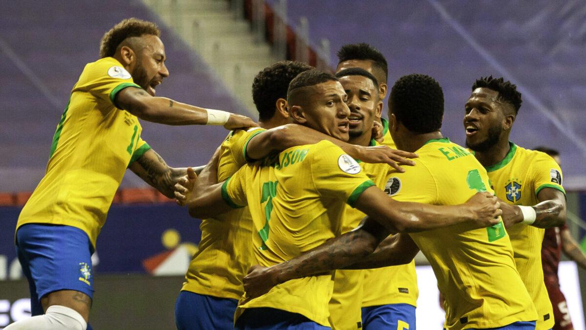 Le Brésil s'est facilement imposé contre le Venezuela et apparaît comme le favori de cette Copa America - Icon Sport
