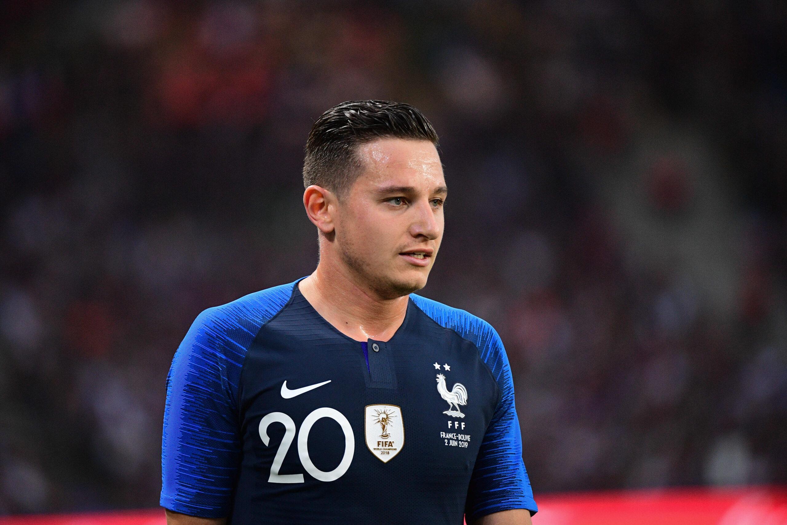 Présenté vendredi 11 juin au Mexique, Florian Thauvin a exprimé toute son ambition. Malgré l'éloignement, l'ancien Marseillais veut retrouver l'Équipe de France (iconsport)