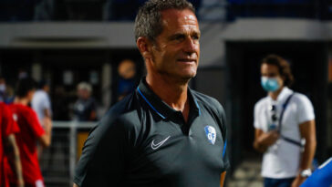 Brillant 4ème de Ligue 1 avec Grenoble, Philippe Hinschberger est le nouvel entraîneur d'Amiens (iconsport)