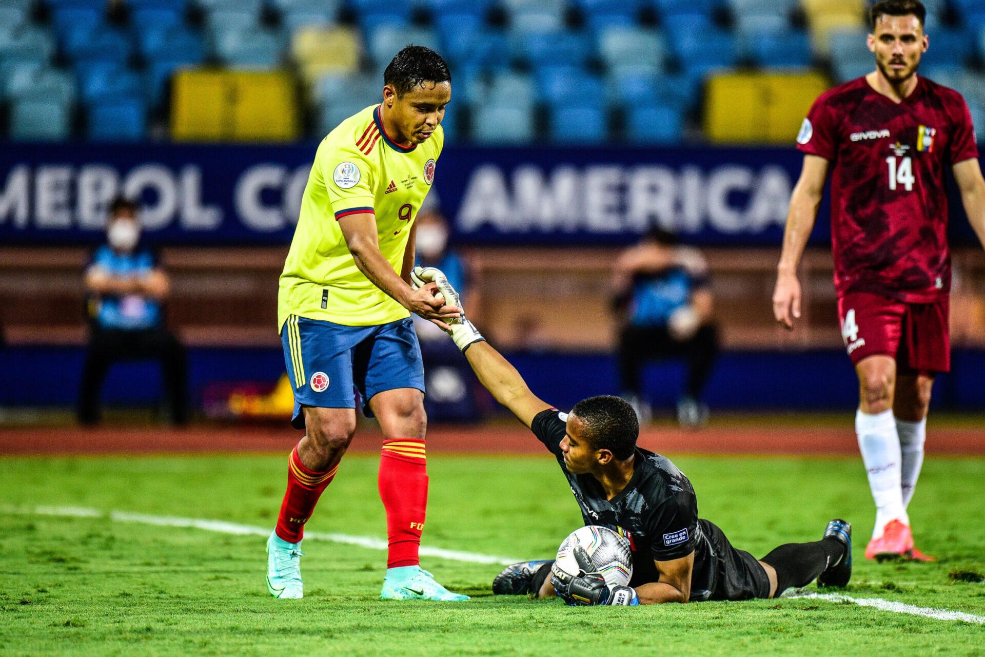 Luis Muriel et les Ticos n'ont jamais pu tromper la vigilance de Wuilker Farinez - Icon Sport