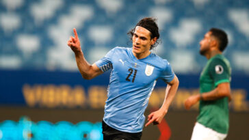 Grâce à un but d'Edinson Cavani, l'Uruguay s'est imposée face à la Bolivie et a assuré la qualification en quarts de finale de la Copa America (iconsport)