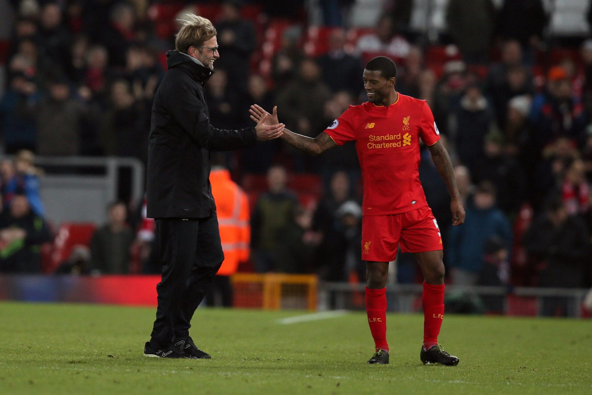 Jurgen Klopp aurait souhaité conserver Wijnaldum à Liverpool. Le milieu expliquera son choix après l'Euro (iconsport)