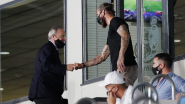 Sergio Ramos et Florentino Perez vont-ils trouver un terrain d'entente ? La tendance est positive, selon les médias espagnols - Icon Sport