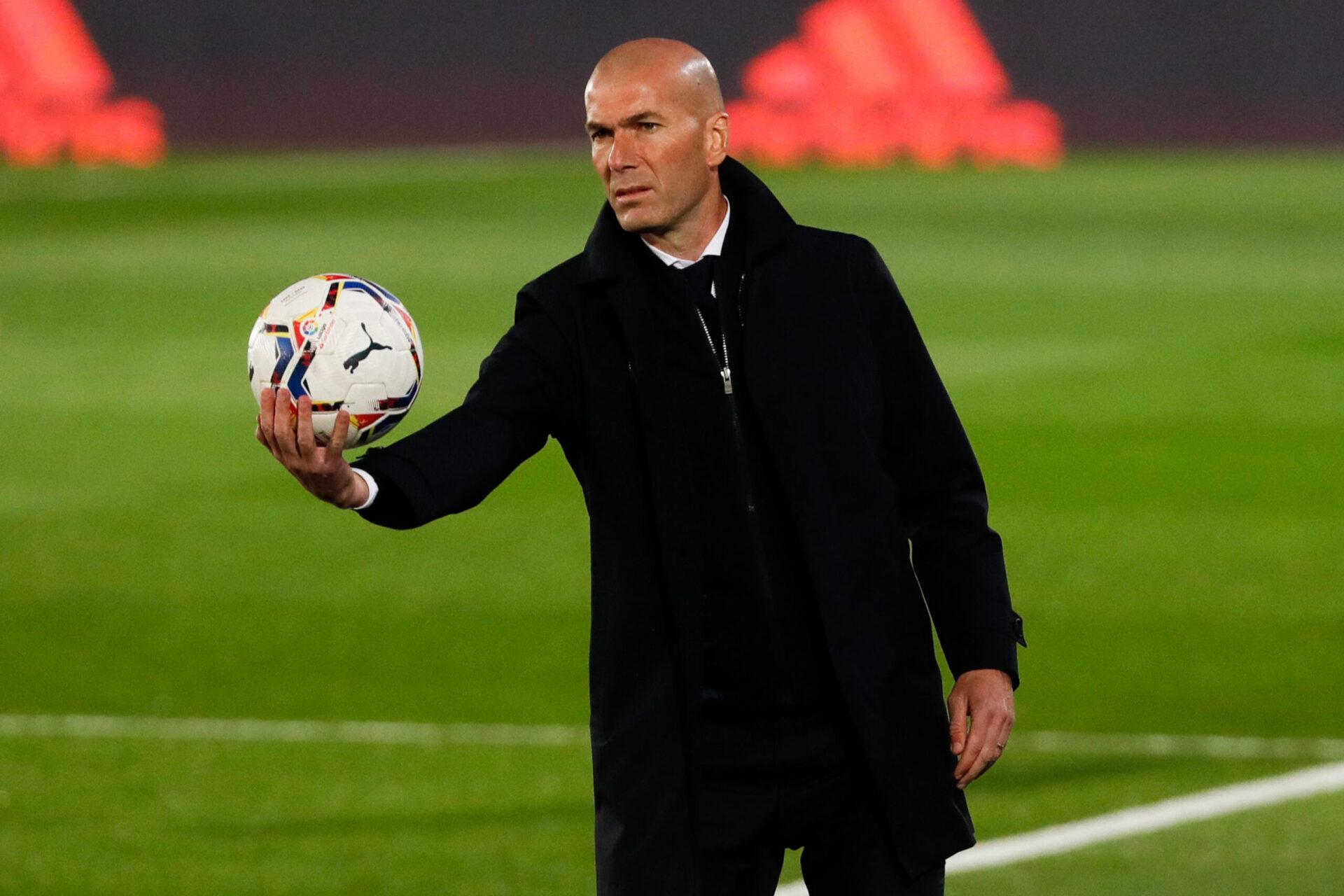 Perez a révélé que Zidane avait comme rêve de prendre la succession de Deschamps à la tête de l'équipe de France (iconsport)