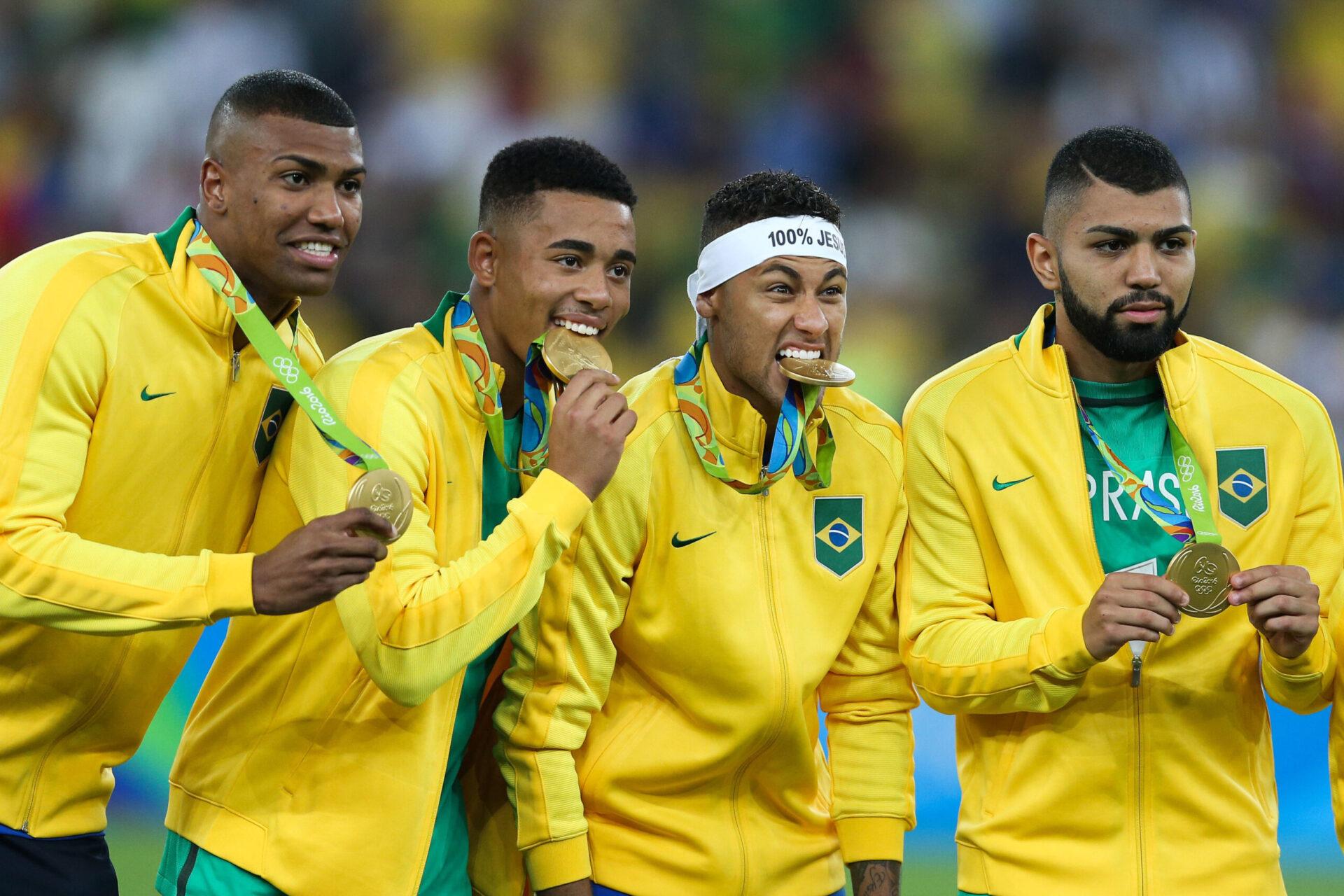 Champion olympique au Brésil en 2016, Neymar ne pourra pas défendre le titre cet été. Le PSG a décidé de ne pas le libérer, tout comme Marquinhos (iconsport)