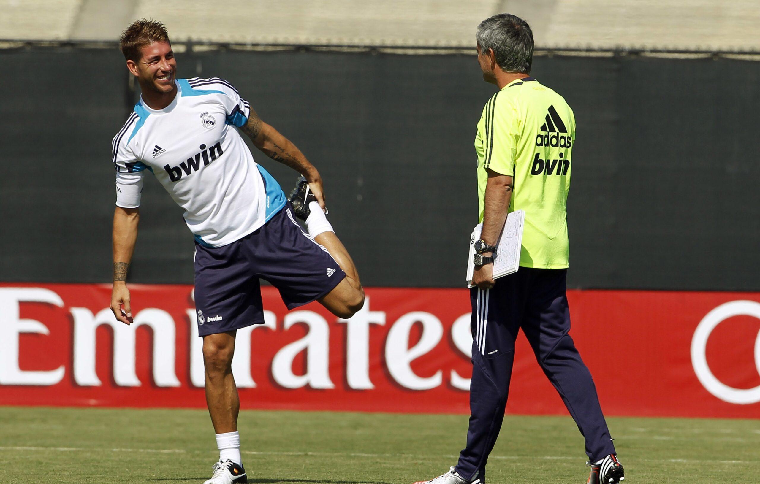 AS Roma, Mercato : Mourinho veut convaincre Sergio Ramos de le rejoindre en Italie