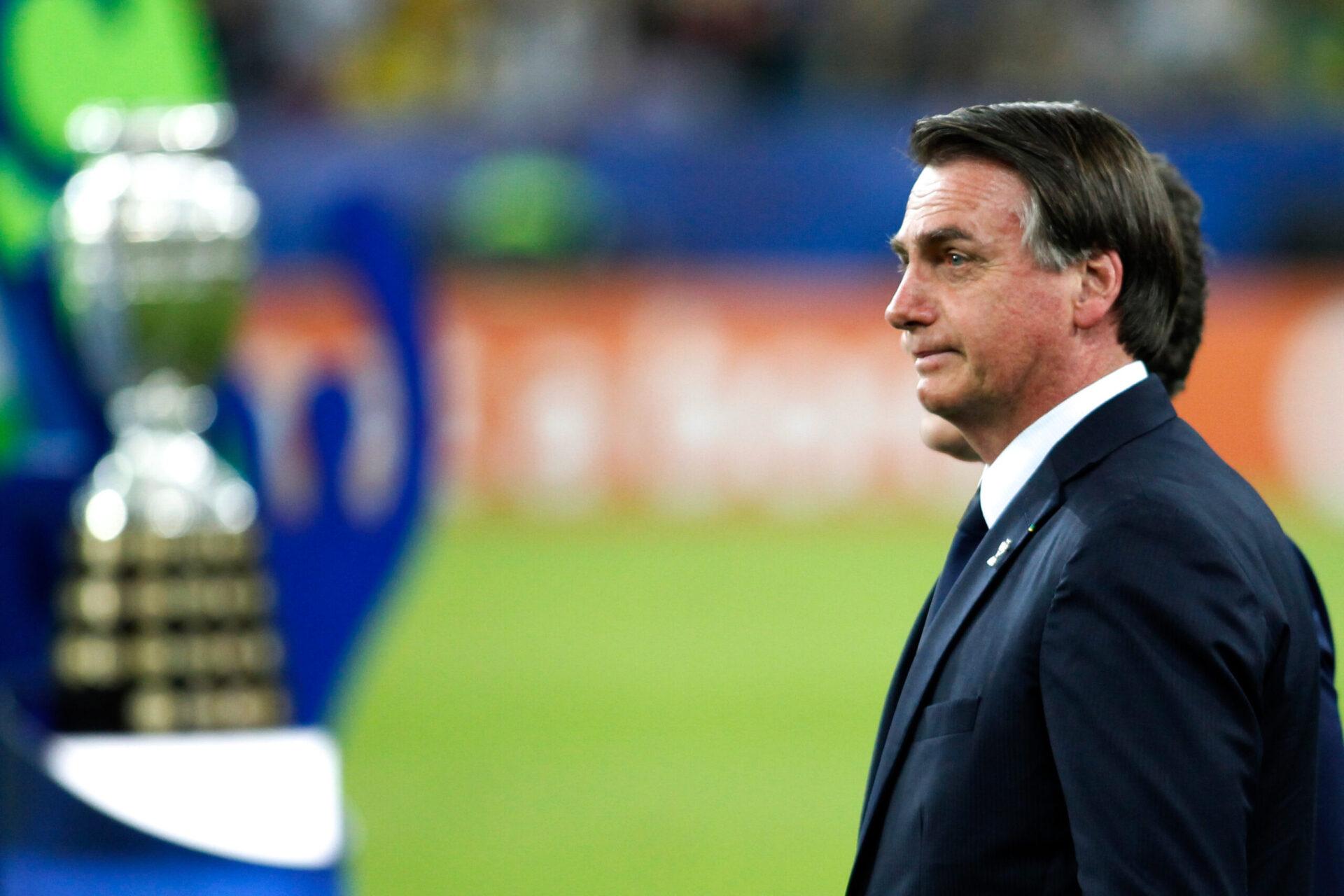 Jair Bolsonaro a poussé pour que le Brésil accueille la Copa America