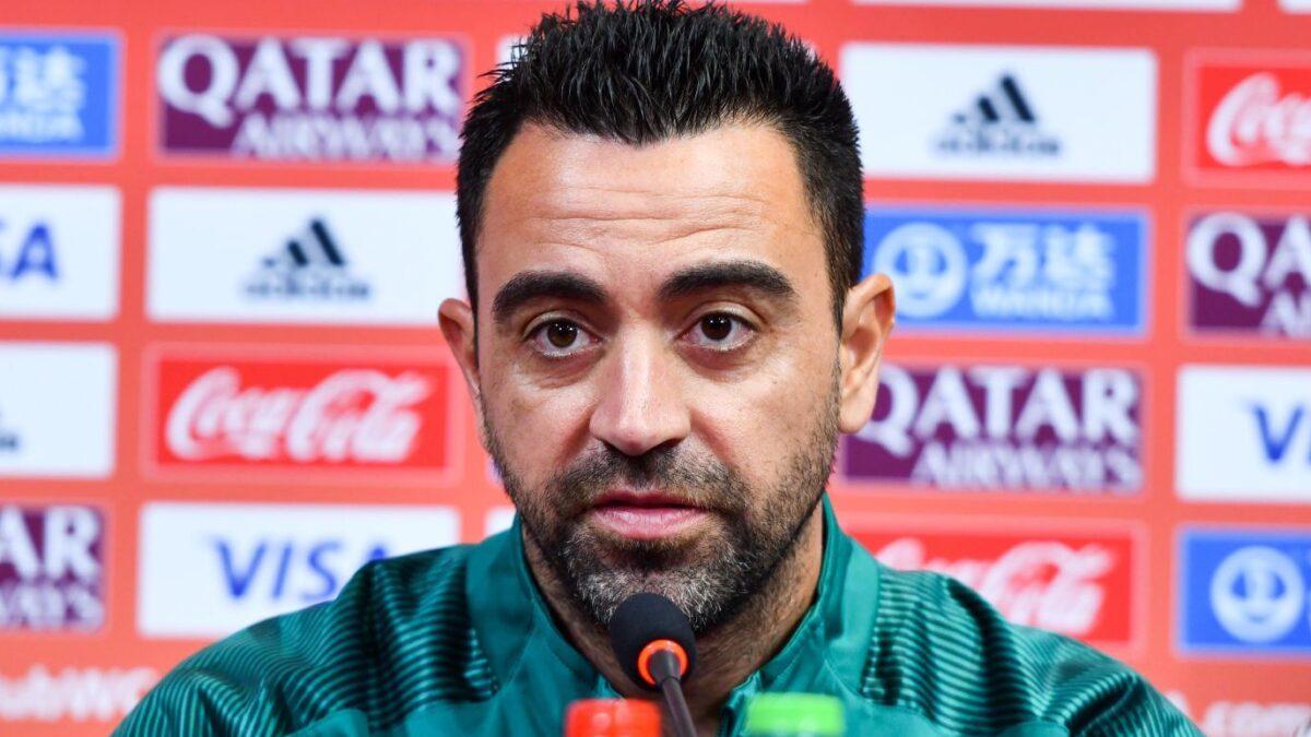 Xavi n'est pas encore prêt à revenir au Barça. Icon Sport