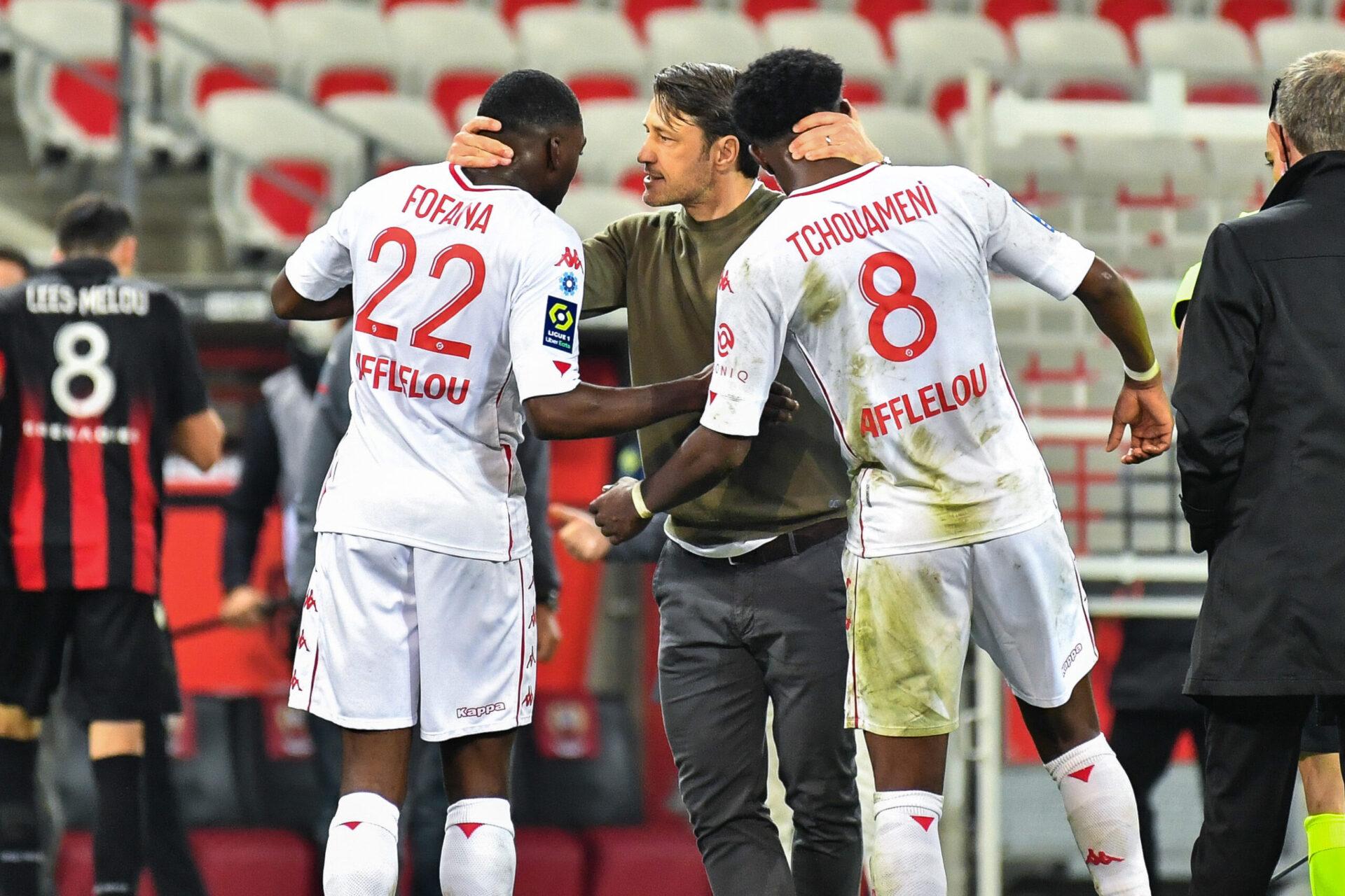 Comme Paris, le Monaco de Niko Kovac compte bien garder ses joueurs dont Tchouaméni et Fofana. L'ASM doit disputer le 3ème tour préliminaire de la Ligue des champions durant les Jeux Olympiques (iconsport)