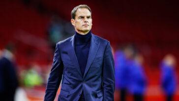 Nommé en 2020, Frank De Boer n'aura tenu que 15 matchs sur le banc des Pays-Bas. Le sélectionneur a été démis de ses fonctions après l'échec de l'Euro (iconsport)