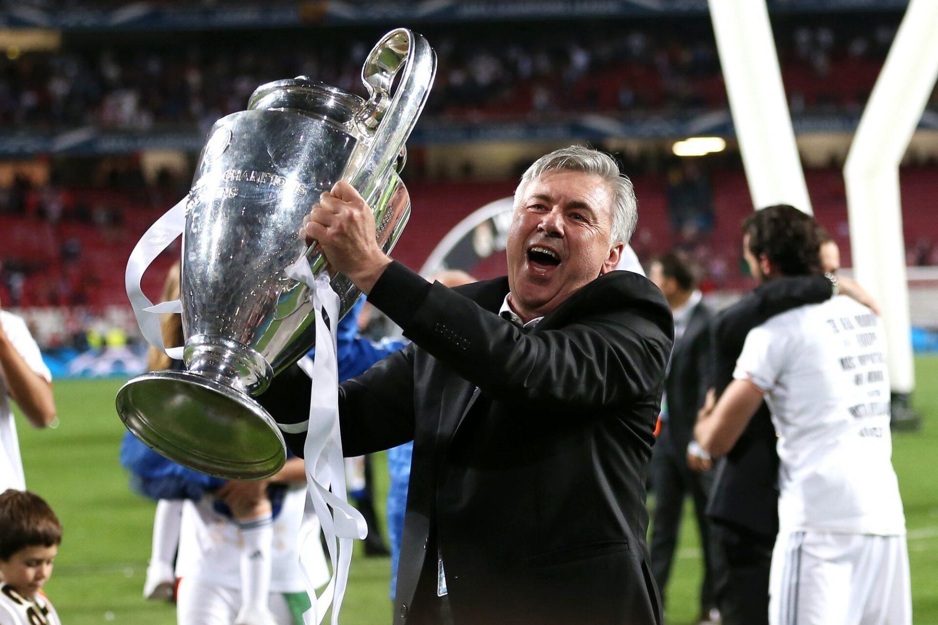 Carlo Ancelotti est de retour comme entraîneur du Real Madrid. Icon Sport