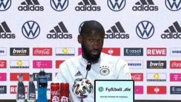 Antonio Rüdiger a dit toute sa confiance en conférence de presse avant France - Allemagne mardi prochain (DFB)