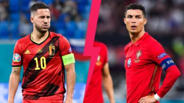 La Belgique affrontera le Portugal ce dimanche soir (iconsport)