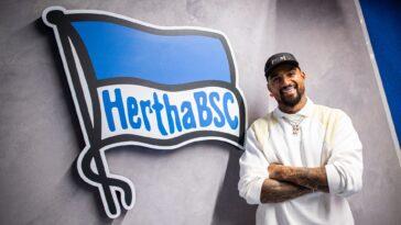 Kevin-Prince Boateng retourne au Hertha Berlin (herthabsc.com)