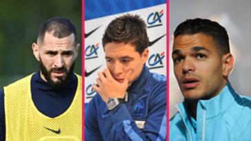 Karim Benzema a estimé que Samir Nasri, Hatem Ben Arfa et les autres membres de la génération 1987 ont manqué de mental pour connaître sa réussite. Icon Sport