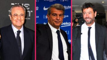 Pour Perez, Laporta et Agnelli, les décisions de justice décisives sonnent comme une victoire dans leur opposition avec l'UEFA (iconsport)