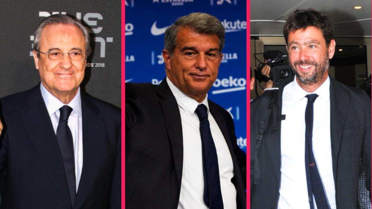 Super League : le Real, le Barça et la Juve devraient participer à la prochaine Ligue des champions