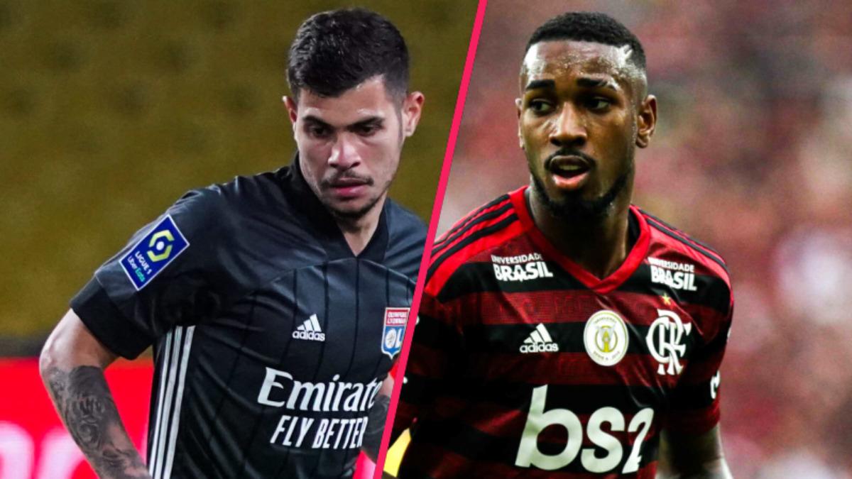 Lyon et Marseille ont eux fait le choix de laisser Bruno Guimarães et Gerson disputer les JO (iconsport)