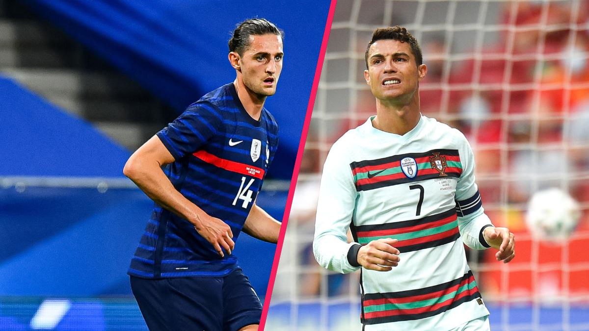 Adrien Rabiot a révélé que Cristiano Ronaldo craignait les Bleus. Icon Sport