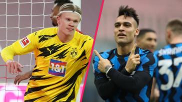 Barcelone veut recruter Haaland ou Lautaro Martinez cet été (iconsport)