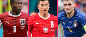 Tous les trois décisifs avec leur sélection, David Alaba, Robert Lewandowski et Marco Verratti intègrent notre équipe-type de la troisième journée des poules (iconsport)