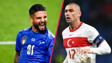 L'Italie d'Insigne et la Turquie de Yilmaz composent notamment le groupe A. Icon Sport