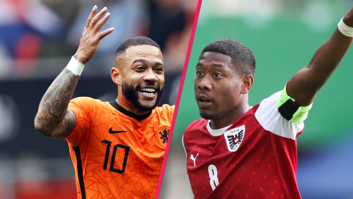 Les Pays-Bas de Memphis Depay devront terrasser l'Autriche de David Alaba et l'Ukraine de Zinchenko pour passer la phase de groupes de l'Euro. Icon Sport