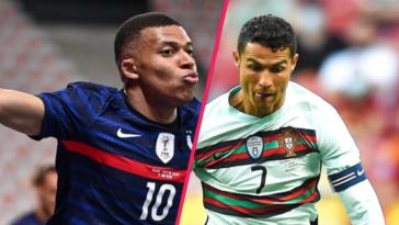 L'équipe de France menée par Kylian Mbappé va affronter le Portugal de Cristiano Ronaldo... entre autres réjouissances dans ce groupe F de tous les dangers. Icon Sport
