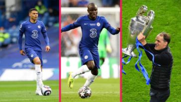 Thiago Silva, N'Golo Kanté et Thomas Tuchel, entre autres, devraient être prolongés par Chelsea. Icon Sport