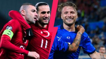 La Turquie se présente avec les Lillois Yilmaz et Yacizi face à l'Italie de Ciro Immobile lors du match d'ouverture de l'Euro 2020, ce vendredi 11 juin à 21h. Icon Sport