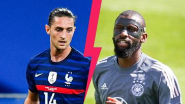 Adrien Rabiot devrait être titulaire dans le 4-3-3 des Bleus contre l'Allemagne d'Antonio Rüdiger. Icon Sport