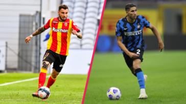 L'Inter a déjà pris contact avec Clauss pour pallier le potentiel départ d'Hakimi (iconsport)
