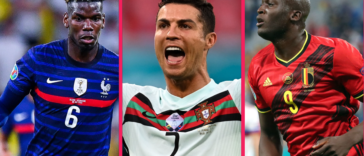 Paul Pogba, Cristiano Ronaldo et Romelu Lukaku composent notre équipe-type de la première journée. Icon Sport