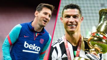 Joan Laporta rêverait d'associer Lionel Messi et Cristiano Ronaldo au Barça... Icon Sport