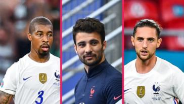 Presnel Kimpembe, Léo Dubois, Adrien Rabiot... Qui pour remplacer Lucas Hernandez et Lucas Digne, incertains pour la suite de l'Euro, comme latéral gauche ? Icon Sport