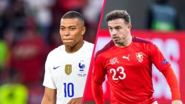La France de Kylian Mbappé affronte la Suisse de Xherdan Shaqiri en huitième de finale de l'Euro 2020, ce lundi 28 juin. Icon Sport