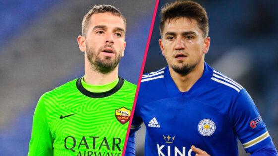Pau López et Cengiz Ünder sont proches de Marseille. La presse italienne évoque un prêt avec option d'achat pour les deux joueurs de l'AS Rome (iconsport)