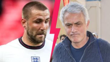Luke Shaw a tenu à répondre aux critiques de son ancien coach José Mourinho (iconsport)