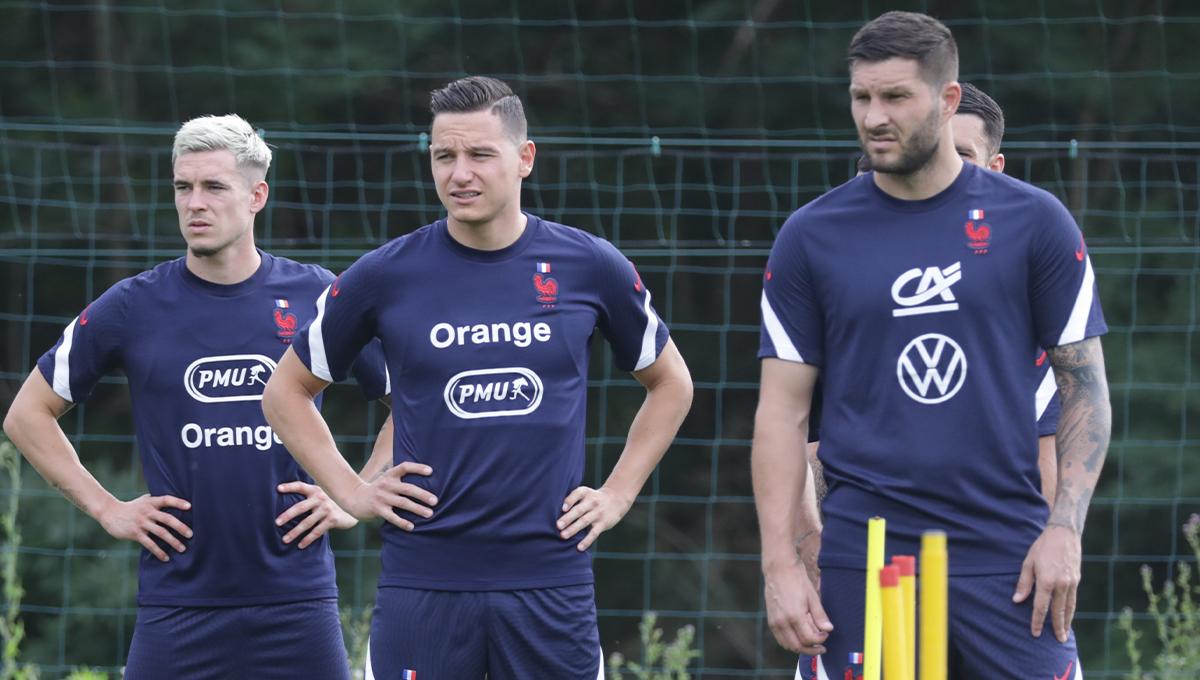 À 35 ans et du haut de ses 36 sélections, André-Pierre Gignac sera le leader du groupe France au Japon (FFF)