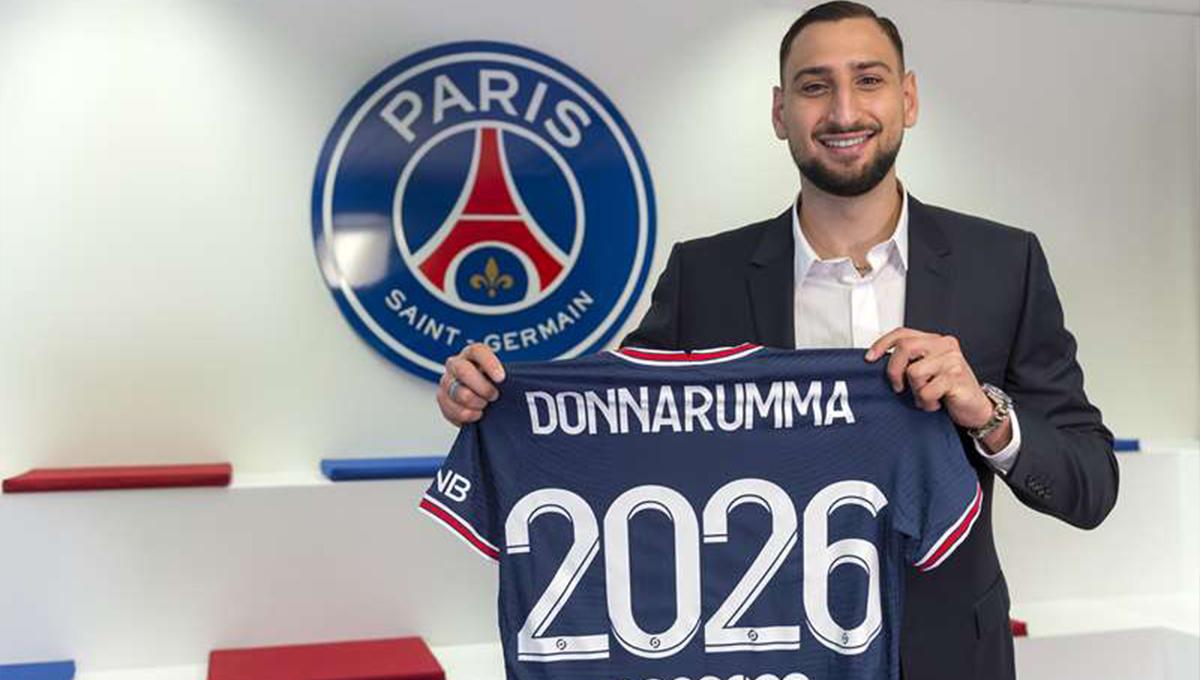 Parisien jusqu'en 2026, Gianluigi Donnarumma était pressenti pour rejoindre la Juventus en début de mercato. Le PSG a finalement réussi à s'offrir le meilleur joueur du dernier Euro (PSG)
