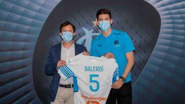 Leonardo Balerdi est officiellement marseillais (iconsport)