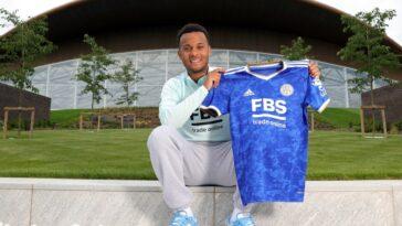 Bertrand a signé deux ans à Leicester (lcfc.com)