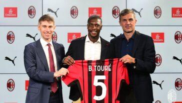 Bollo-Touré est un nouveau joueur de l'AC Milan (iconsport)