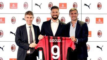 Olivier Giroud est désormais un joueur de l'AC Milan. Icon Sport