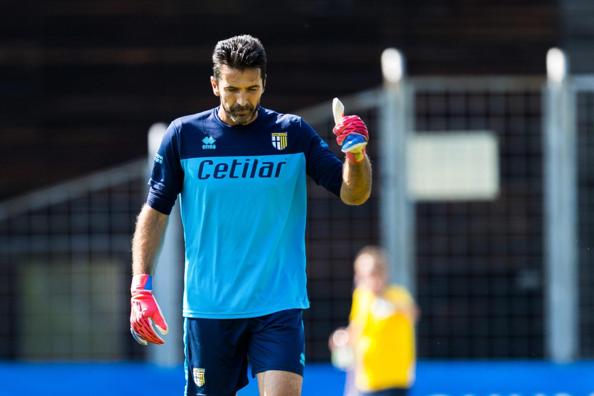"""Buffon veut ramener Parme en Serie A, mais continue de """"rêver"""" grâce à la Coupe du monde (iconsport)"""